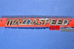 "Genuine Mazda  ""Mazdaspeed"" Emblem"
