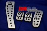 I.L. NB Foot Pedal set aluminium complete 4 pieces