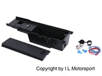I.L. Store-It Center Console Insert Tray With 12Volt Power Outlet  (Black)